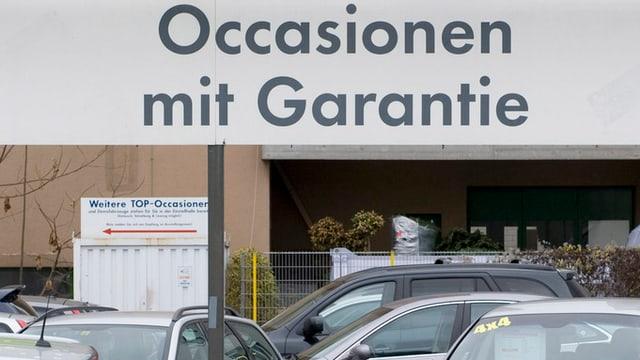 """inscripziun d'ina garascha """"occasiuns cun garazia"""" sutvart autos"""