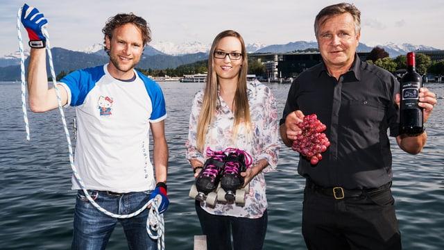 Video «Fiirabig in Luzern – von gutem Wind und Rollschuhen» abspielen