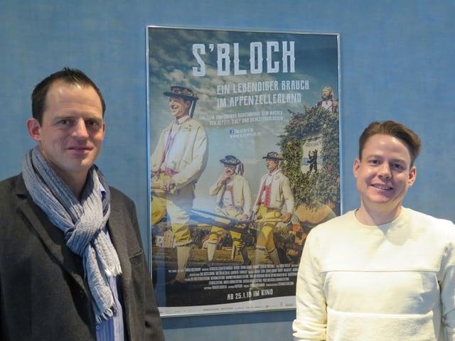 links Thomas Rickenmann, rechts Yves Noël Balmer