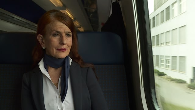 Sefika Garibovic im Zug