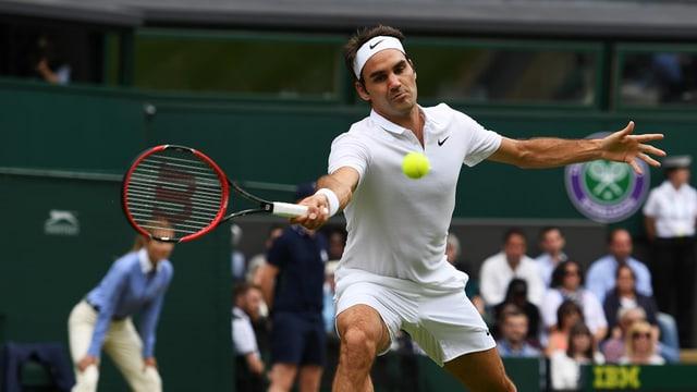 Roger Federer en acziun.