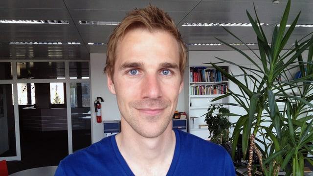 Der Aarauer Philipp Noever ist seit einem Jahr an der Spitze des TV Schönenwerd.
