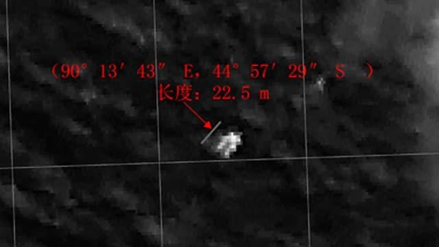 Satellitenbild zeigt ein Objekt