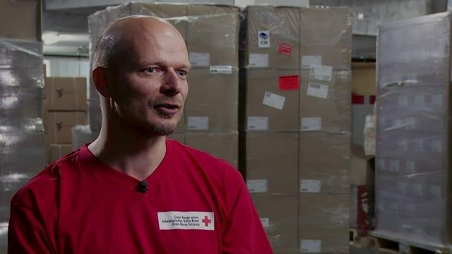 Thomas Büler, Logistiker beim Schweizerischen Roten Kreuz