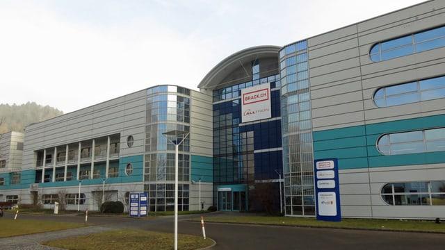 Fabrikgebäude der Firma Brack.ch