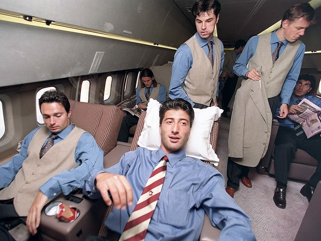 Die Nati flog am 28. August 1996 mit einem Luxus-Jet der Petrol Air nach Aserbaidschan.