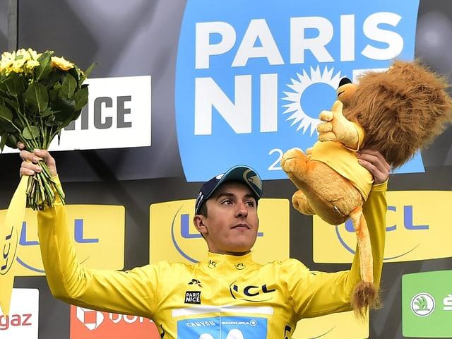 Marc Soler als Gesamtsieger von Paris-Nizza.