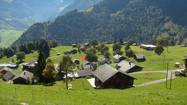 Das Dorf Braunwald
