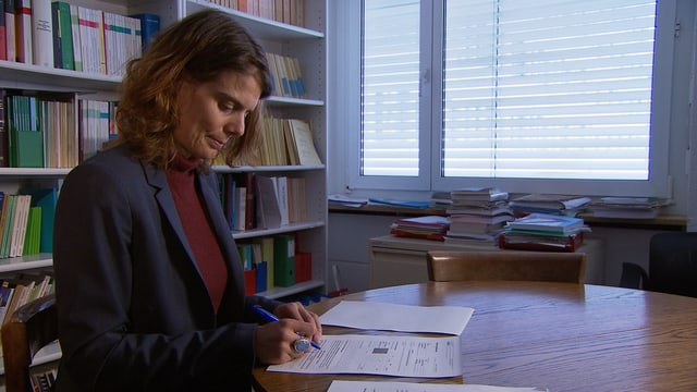 Felicitas Huggenberger vom Mieterinnen- und Mieterverband Zürich
