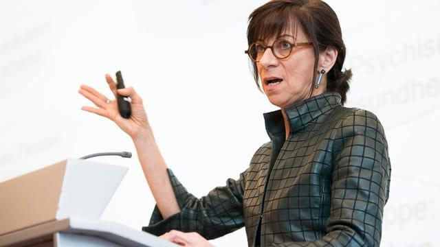 Die Rolle von Gesundheitsdirektorin Heidi Hanselmann