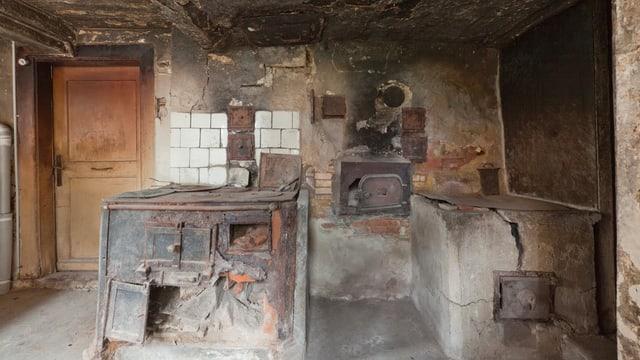 Sicht in das Innere der Küche