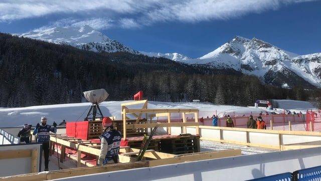 Tour de ski en Val Müstair.