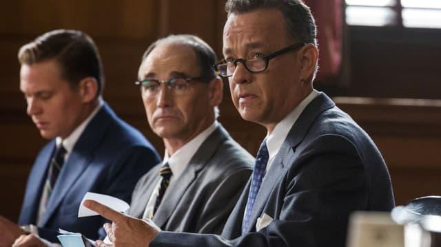 Tom Hanks in einer Filmszene als Anwalt.