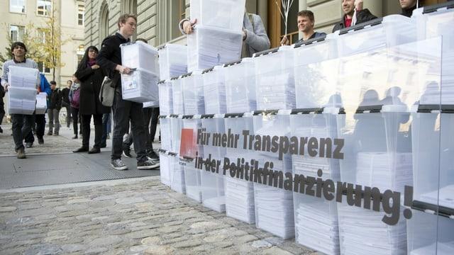 Transparenz-Initiative.