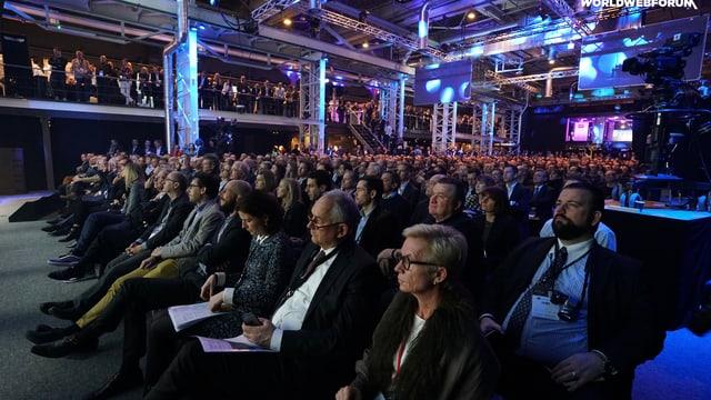 Publikum beim WWF.