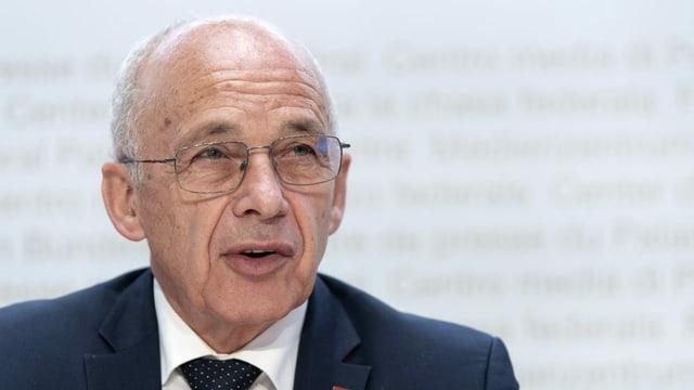 Ueli Maurer, il minister da finanzas.
