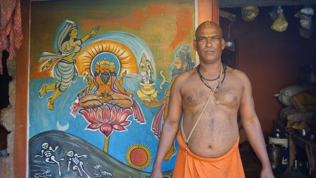 Viele indische Dorfbewohner glauben, dass psychisch Kranke von Dämonen besessen sind und suchen deshalb Hilfe beim lokalen Gunia, dem traditionellen Heiler.