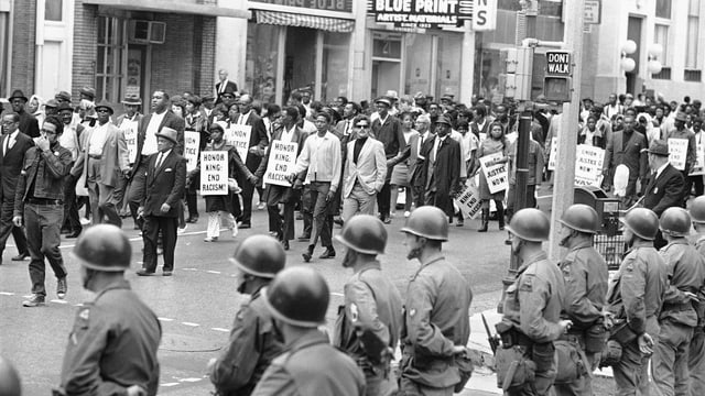 Las demonstraziuns han entschet il 1968 en l'USA.
