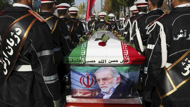 Der iranischen Atomphysiker