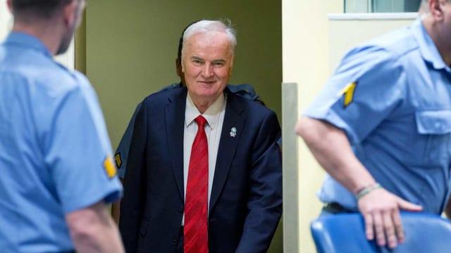 Der bosnisch-serbische Ex-General Ratko Mladic.
