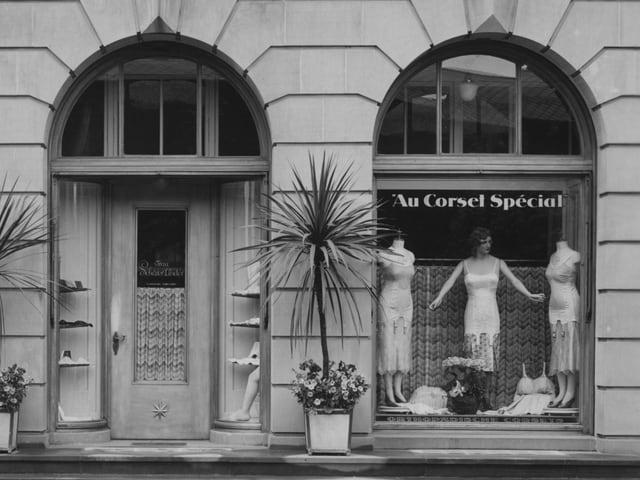 Das Geschäft in den 1960er Jahren.