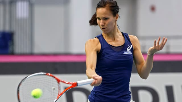 la giugadra da tennis Viktorija Golubic