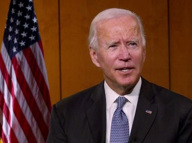 Joe Biden wird am Parteitag der Demokraten als Präsidentschaftskandidat nominiert werden.