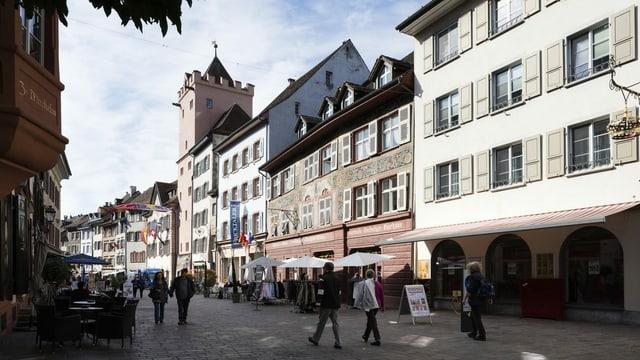 La citad veglia da Rheinfelden (AG)