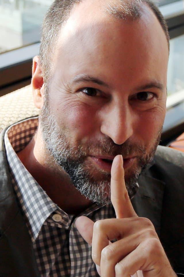 Noel Biedermann, Chief Executive bei Avid Life Media, den Betreibern von Ashley Madison