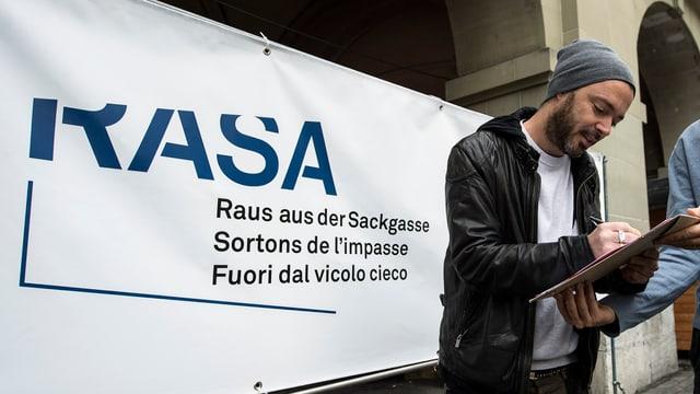 Die Initiative «Raus aus der Sackgasse».