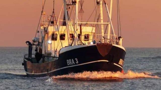 Die Rotesand ist der Krabbenkutter von Torben Hinners in Cuxhaven.