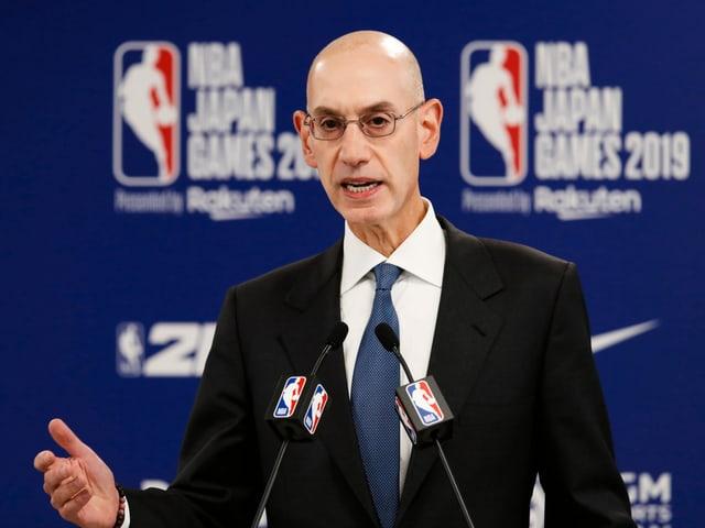 NBA-Commissioner Adam Silver.