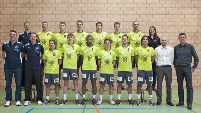 Mannschaftsfoto Volleyball-Club TV Schönenwerd