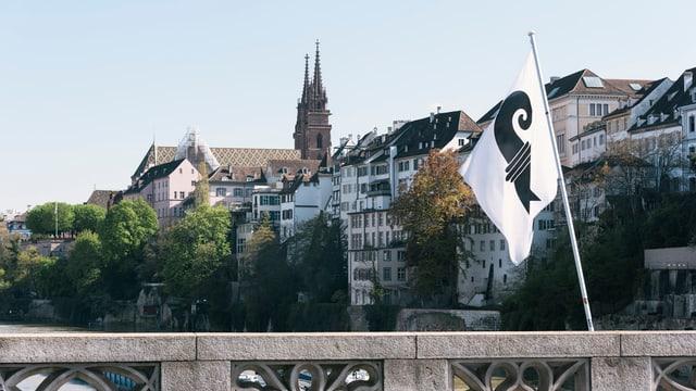 Blick auf das Basler Münster
