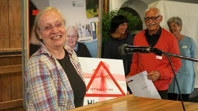 Gruppenfoto bei der Preisverleihung.