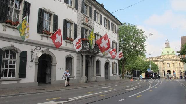 Das Rathaus Frauenfeld.