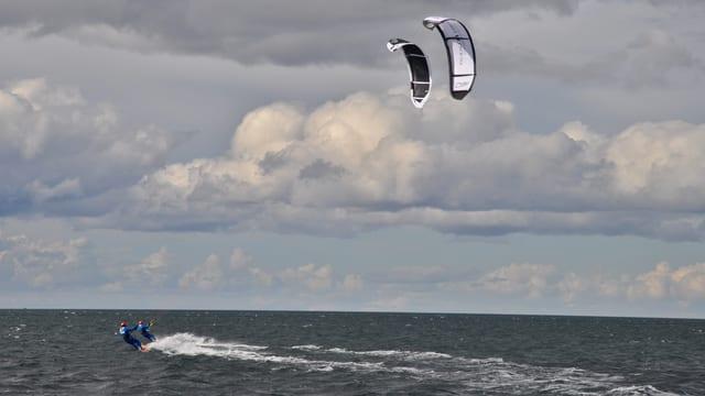 Video «Wilde Wellen, Wale und ein Weltrekord (Winter-Challenge 13-4)» abspielen