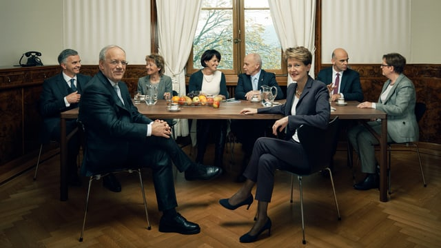 Das Bundesratsfoto 2015.