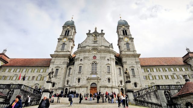 Das Kloster Einsiedeln.