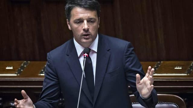 Matteo Renzi im Parlament (Archivbild)
