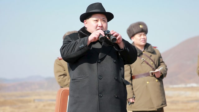 il dictatur nordcorean Kim Jong Un.
