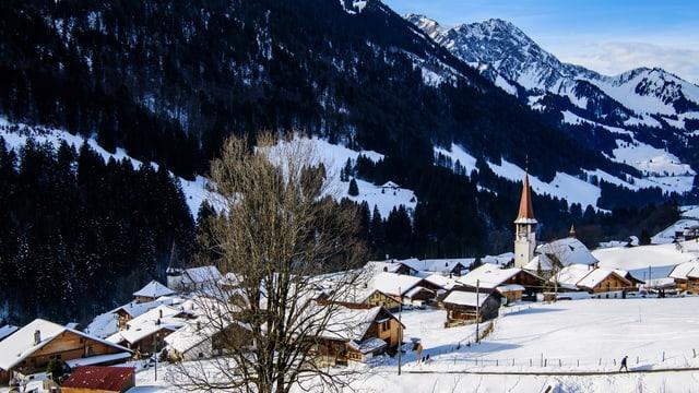 Video ««SRF bi de Lüt – Unser Dorf» in Jaun FR» abspielen