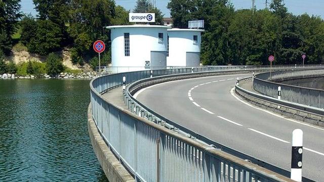 ein Staudamm