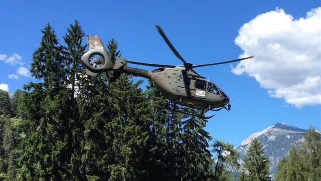 Helicopter da l'armada.
