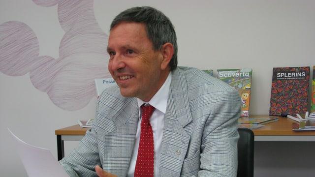 Martin Jäger, il minister d'educaziun dal chantun Grischun