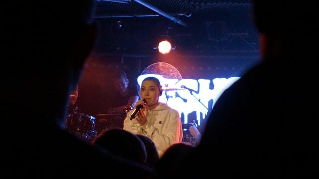 La chantadura Bishop Briggs durant ses concert