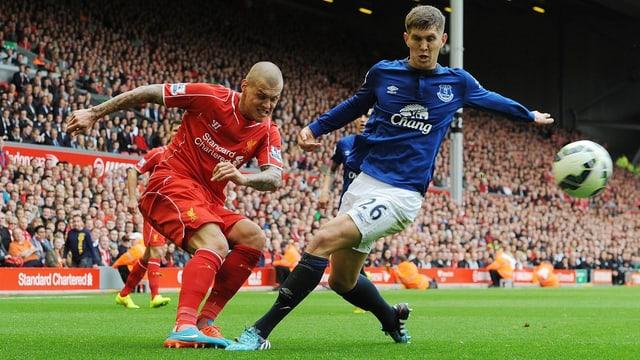 Liverpool gegen Everton