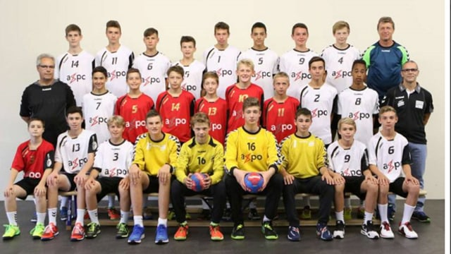 Das Team Junioren U17 Promotion des TV Endingen.