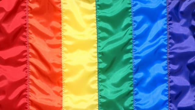 Die Regenbogenflagge