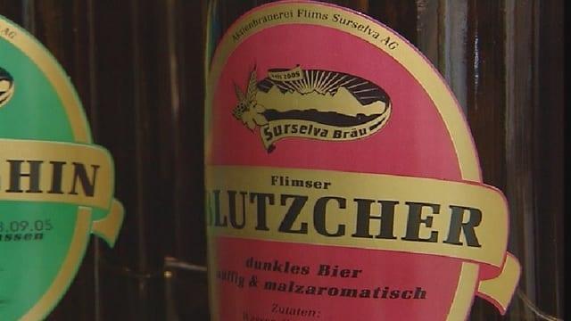 Etichettas da buttiglias da biera